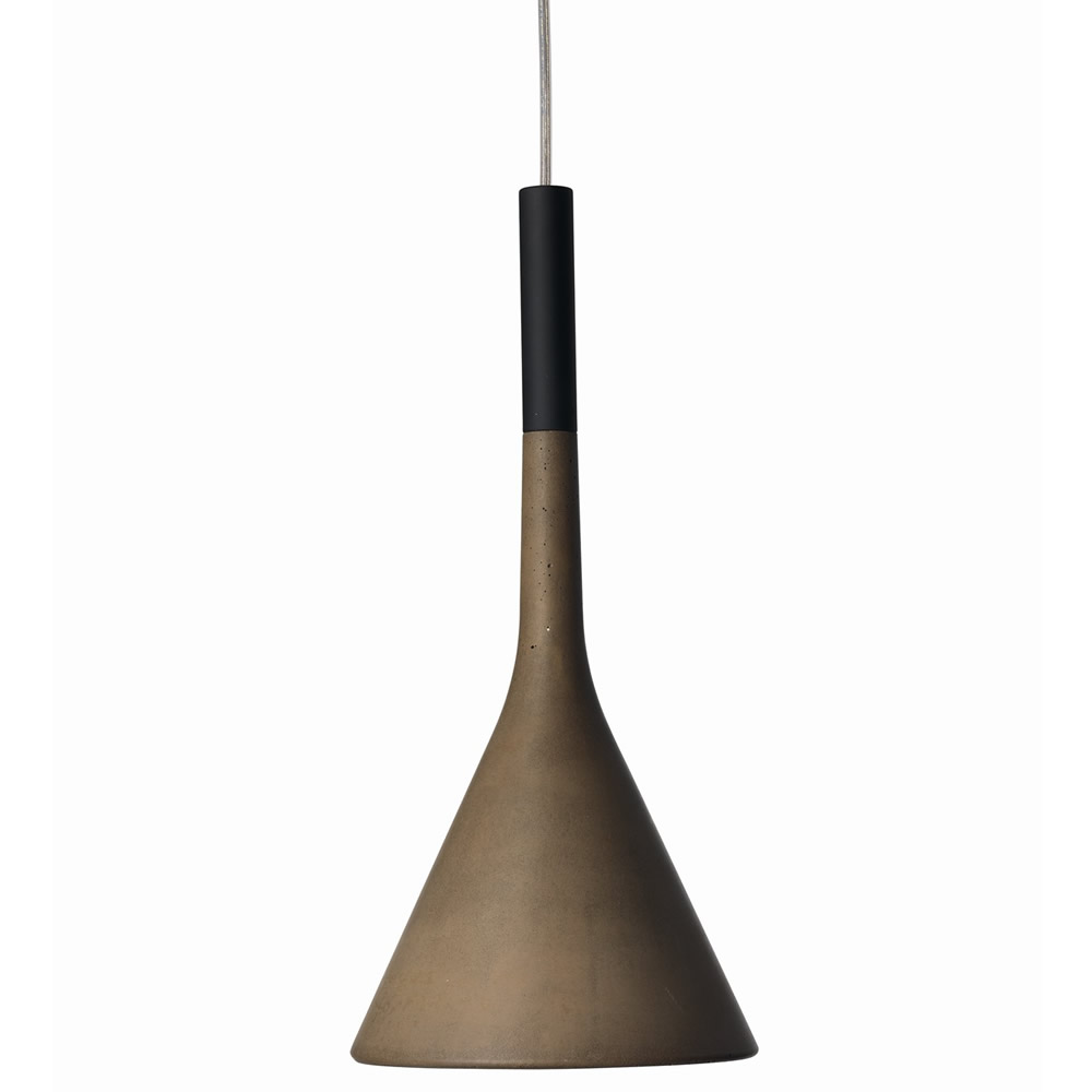 Aplomb Pendant Lamp Gu10 LED 18w Brown