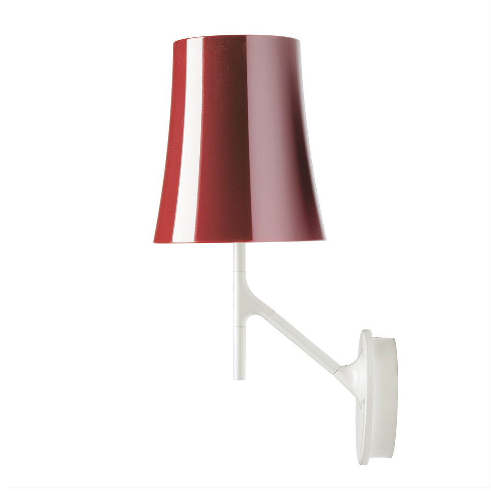 Birdie Wall Lamp dimmable E27 20w Amaranto