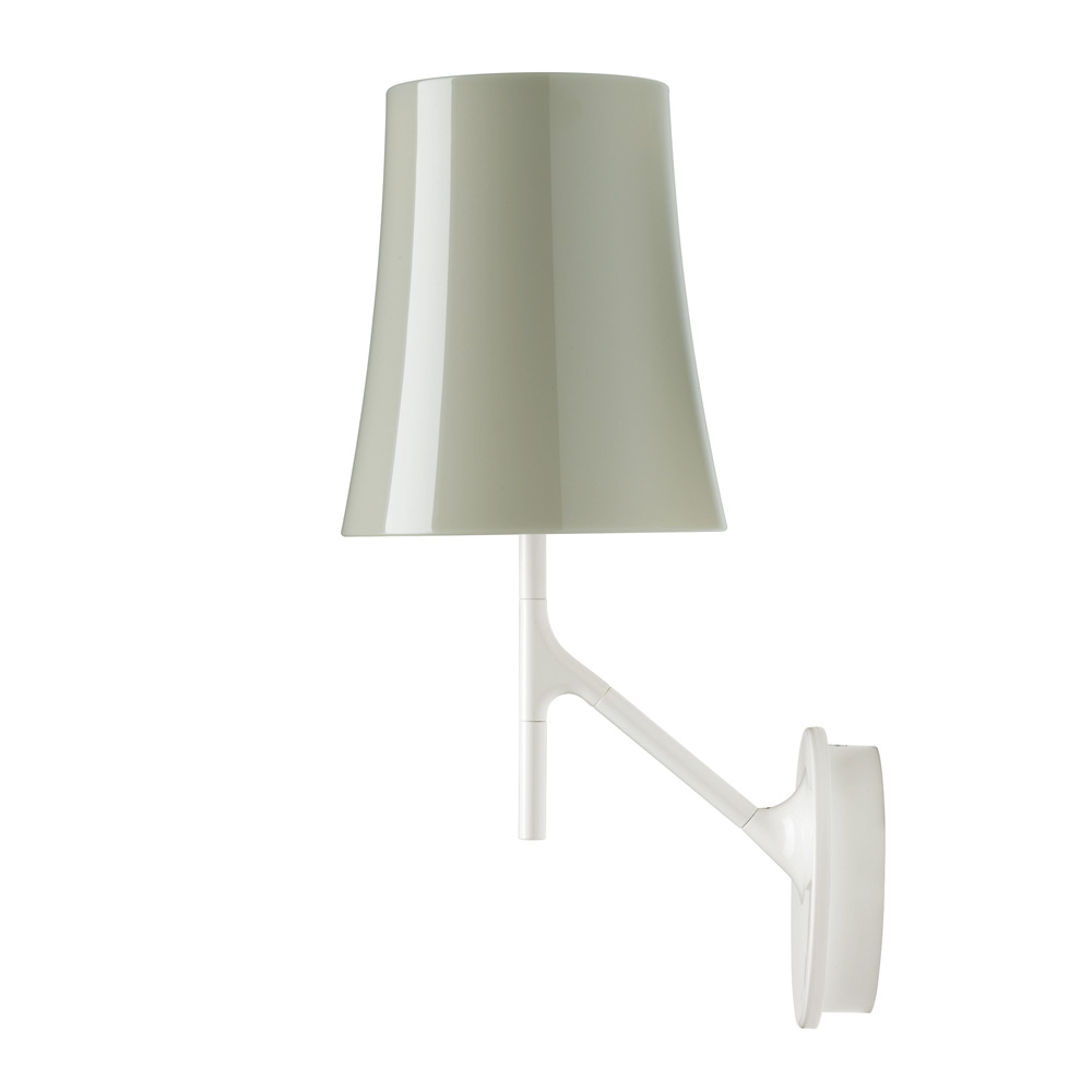 Birdie Wall Lamp dimmable E27 20w Grey