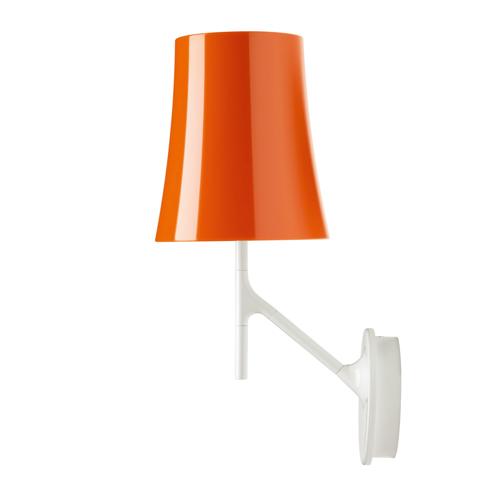 Birdie Wall Lamp E27 20w orange