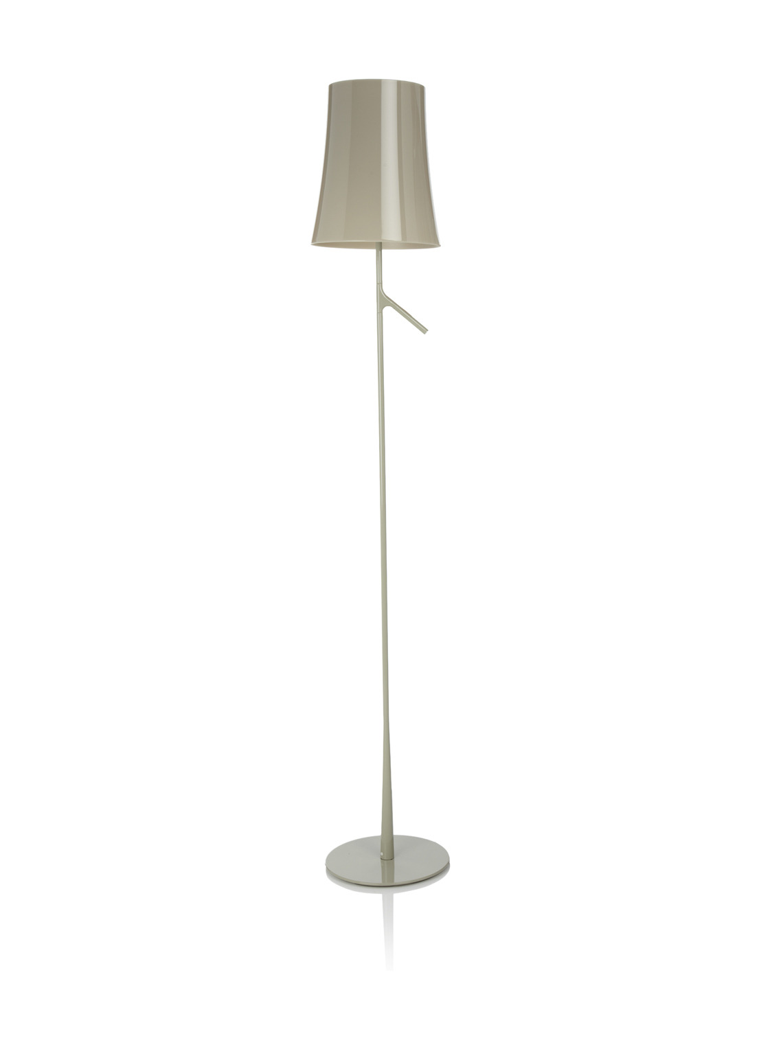 Birdie Reading lámpara of Floor Lamp E27 20w dimmable Grey