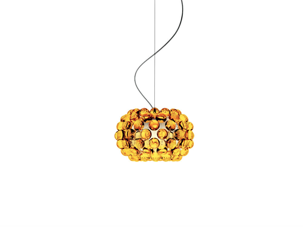 Caboche Pendant Lamp Small Yellow Gold (Cable 5m)