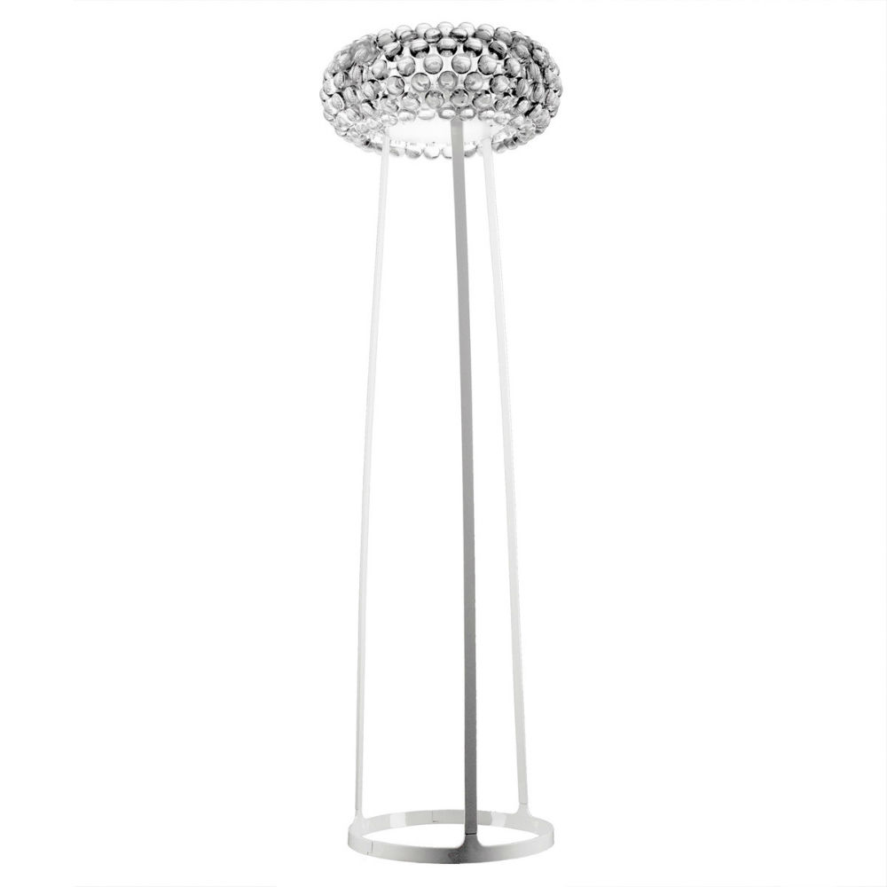 Caboche lámpara of Floor Lamp Large Transparent