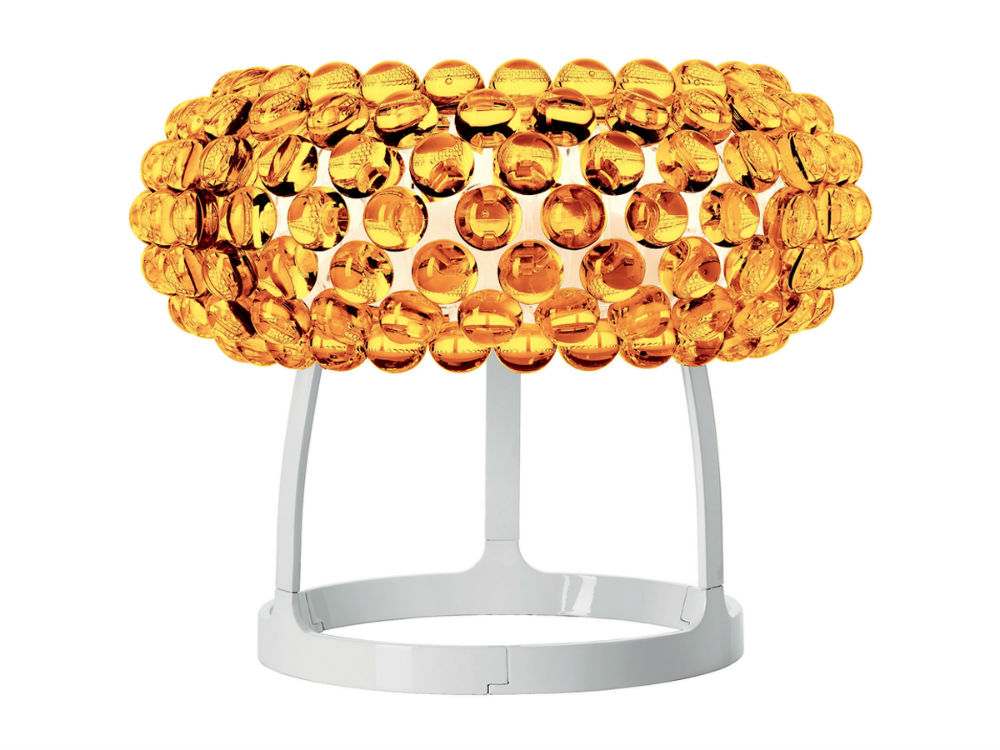 Caboche Table Lamp Large Yellow Gold