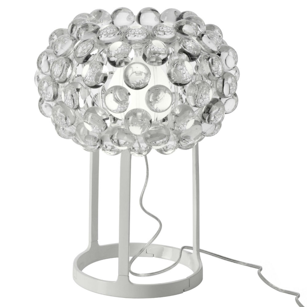 Caboche Lampe de table Petite Transparent