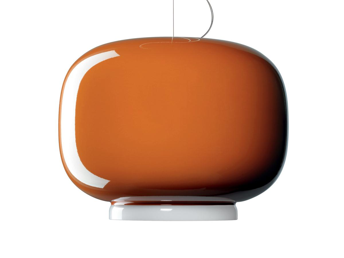 Chouchin 1 Pendant Lamp 40cm orange