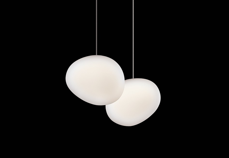 Gregg Outdoor Pendant Lamp 47cm E27 25w white