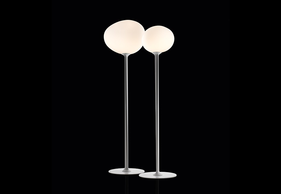 Gregg lámpara of Floor Lamp 168cm E27 20w with intensity regulator white