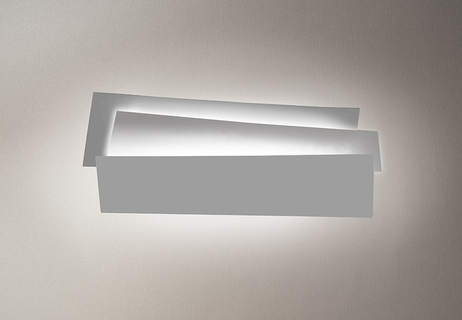 Innerlight Aplique 77cm 2G11 2x36w regulable blanco