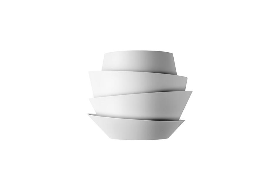 Le Soleil Applique 36cm G24q-3 2x26w bianco