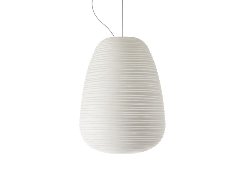 Rituals 1 Suspension E27 1x70w blanc