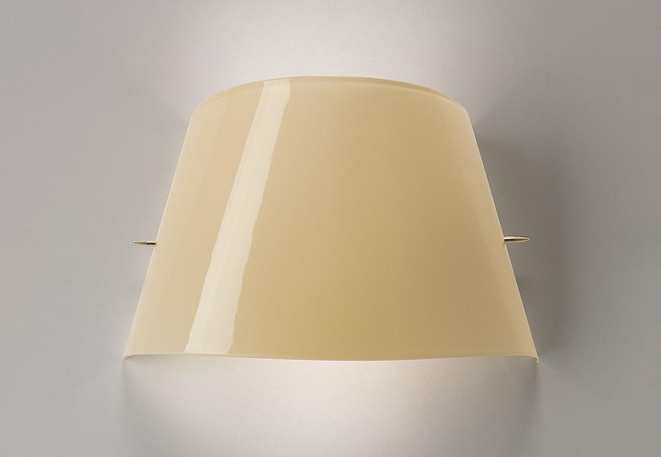 Tutu 07 luz de parede E14 2x46w Marfim