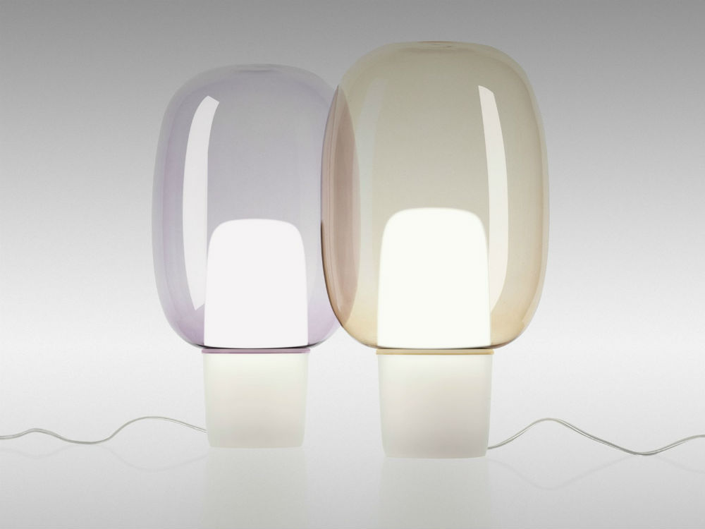 Yoko Table Lamp E27 1x25w Violeta