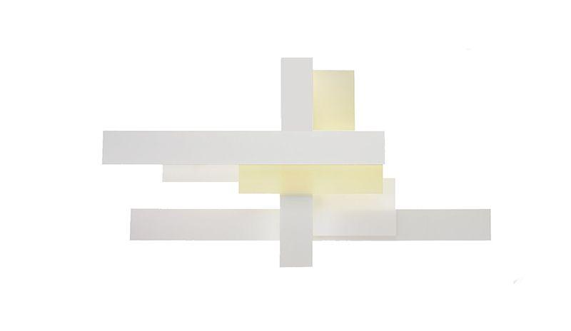 Fields Wall Lamp (80W 54W 39W) white