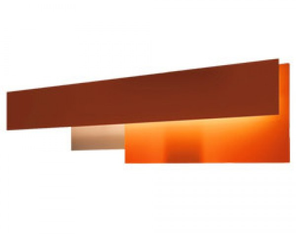 Fields 2 Wall Lamp (54w) orange