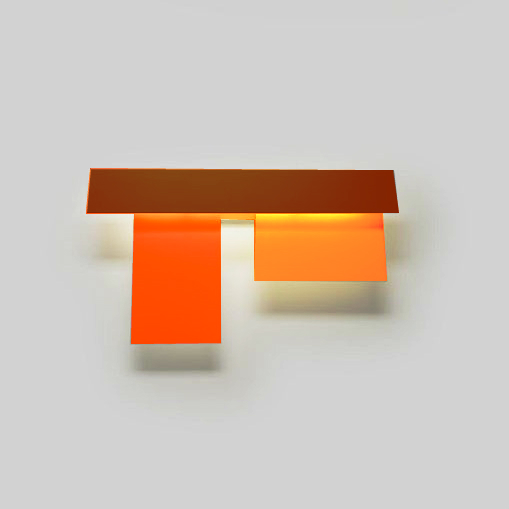 Fields 3 Wall Lamp (39w) orange