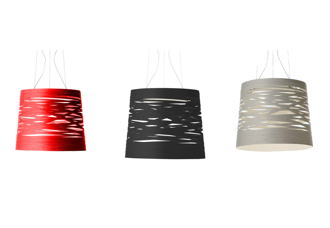 Tress large Pendant Lamp Black