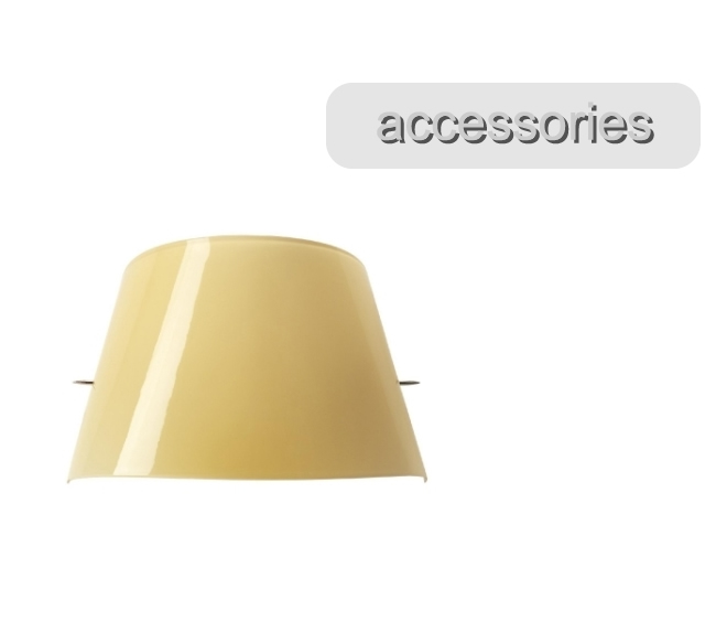 Tutu 07 Accessory Glass for Wall Lamp Ivory