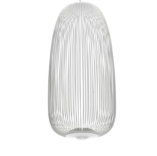 Spokes 1 Lamp Pendant Lamp white