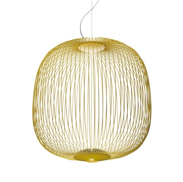 Spokes 2 Lamp Pendant Lamp Yellow