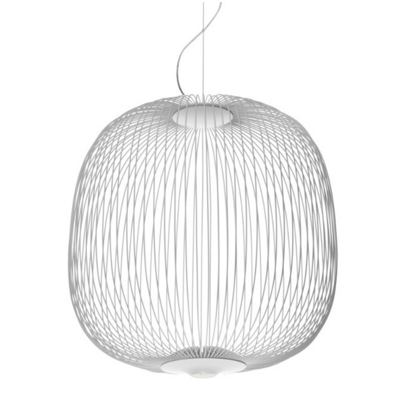 Spokes 2 Lamp Pendant Lamp white