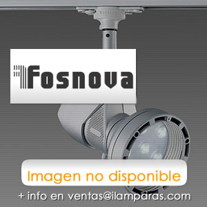 "CAST ""A"" LED Amarillo 230V 10° LED 2,5W Plata met S + L"