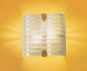 FLAMINIA P Aplique Oro Cristal Grandes Pan de Oro