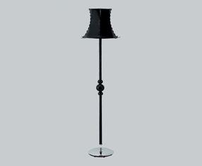 PIN UP TR lámpara of Floor Lamp Chrome Black