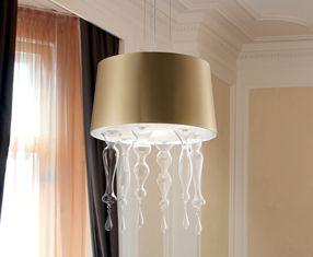 SANTOMA 50 S Pendant Lamp lampshade Gold OPACO