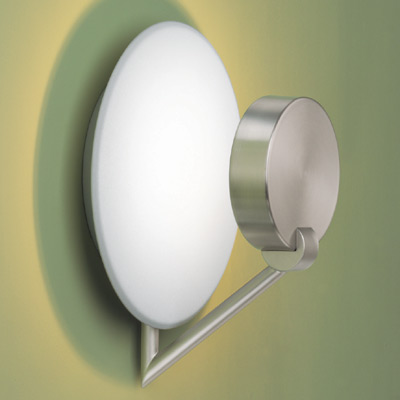 Ibis plafón/Wall Lamp 20cm Nickel Satin