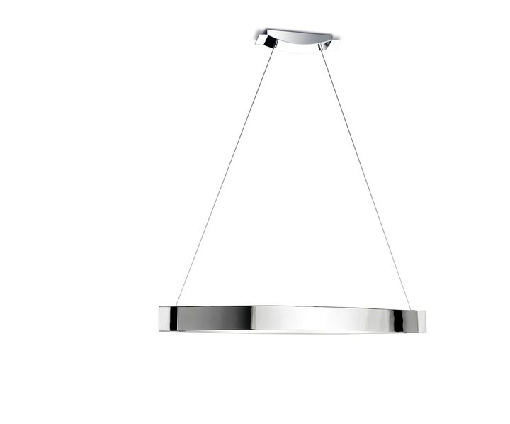 Slimm Lámpara Colgante 2xR7s MAX 150W - Aluminio mate