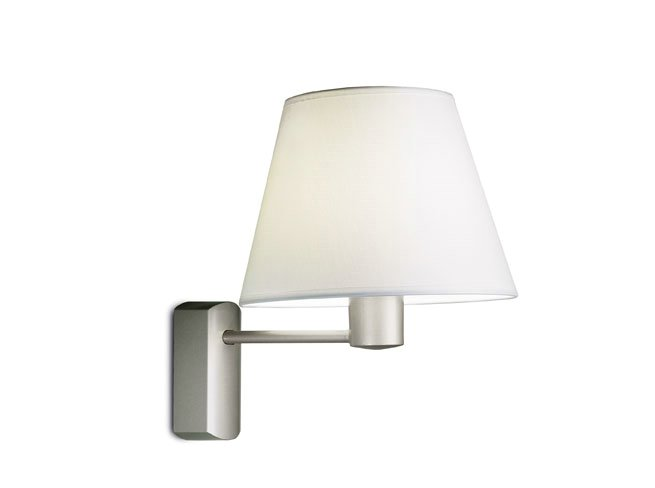 hotels (Structure) Wall Lamp 1 arm fixed E27 60w Nickel Satin