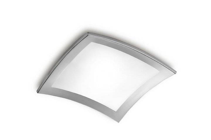 Basic 300 ceiling lamp pequeño 30cm Nickel Satin
