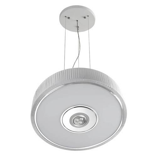 Spin Lámpara Colgante ø45cm 3x30w PL E27 + Cree LED 350mA 3w 2900ºK blanco