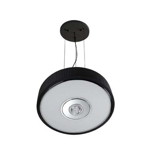 Spin Lámpara Colgante ø75cm 5x30w PL E27 + Cree LED 350mA 9w 2900ºK negro