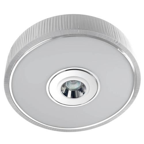 Spin Plafón ø45cm 3x30w PL E27 + QR-CBC51 GU5,3 blanco