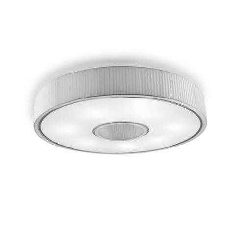 Spin Plafon 75cm 5xE27 max30W - Chrome Diffuseur blanc opale