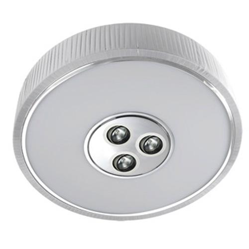 Spin Plafón ø100cm 7x30w PL E27 + 3 Downlights QR 70 BA15d 50w blanco
