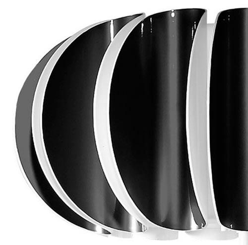 Blomma black lampshade (Diffuser)