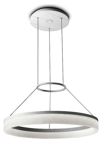 Circ Lámpara Colgante 100cm LED 18W - blanco mate