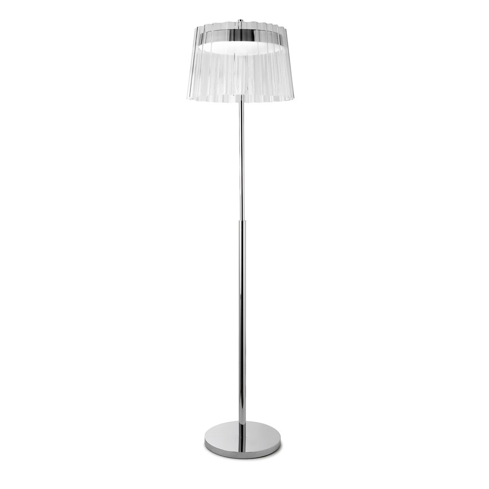 Iris Floor Lamp 42,5cm 1x2GX13 55W - Chrome