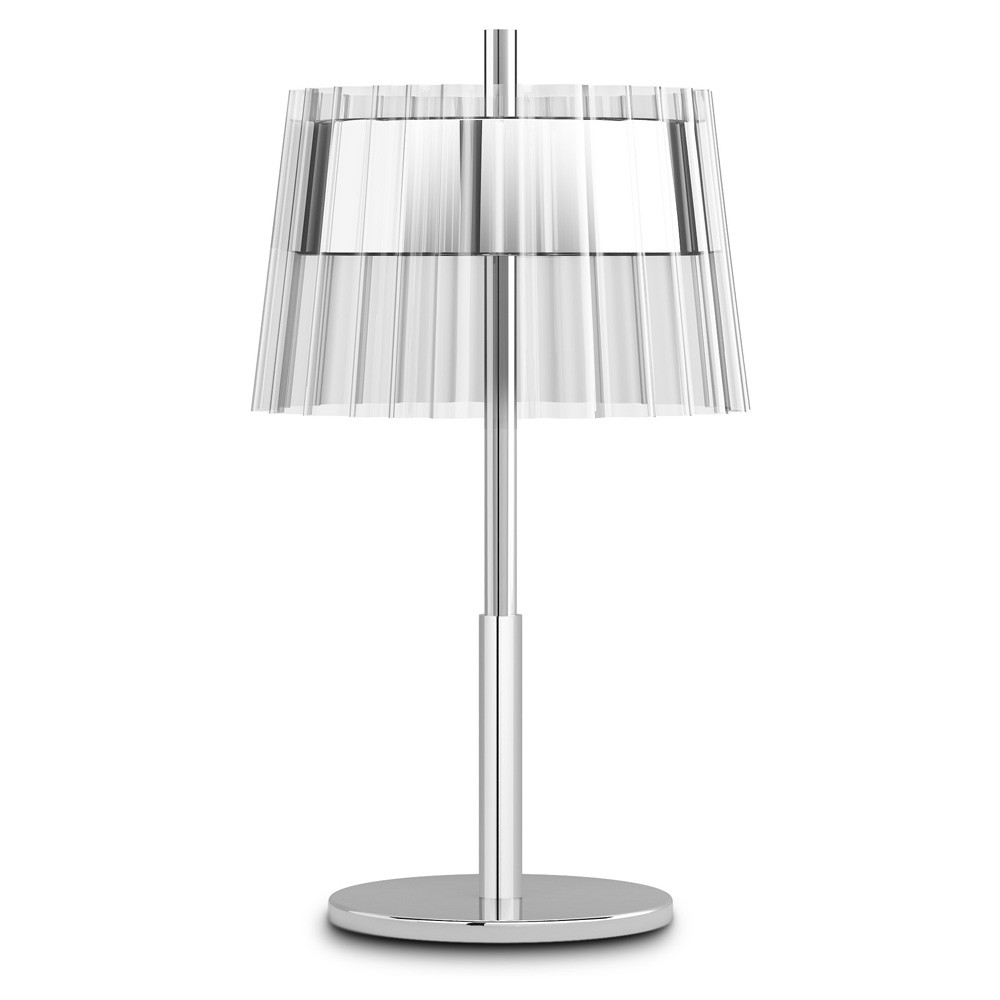 Iris Table Lamp 23,1cm 2xE14 max15W - Chrome