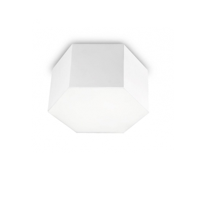 Six Plafón 28x15cm LED 15w 3000K - blanco mate