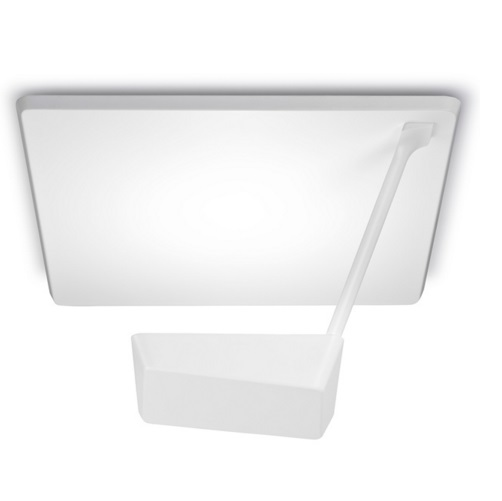 Ace Plafón 44cm LED 1x27w 3000K - blanco mate