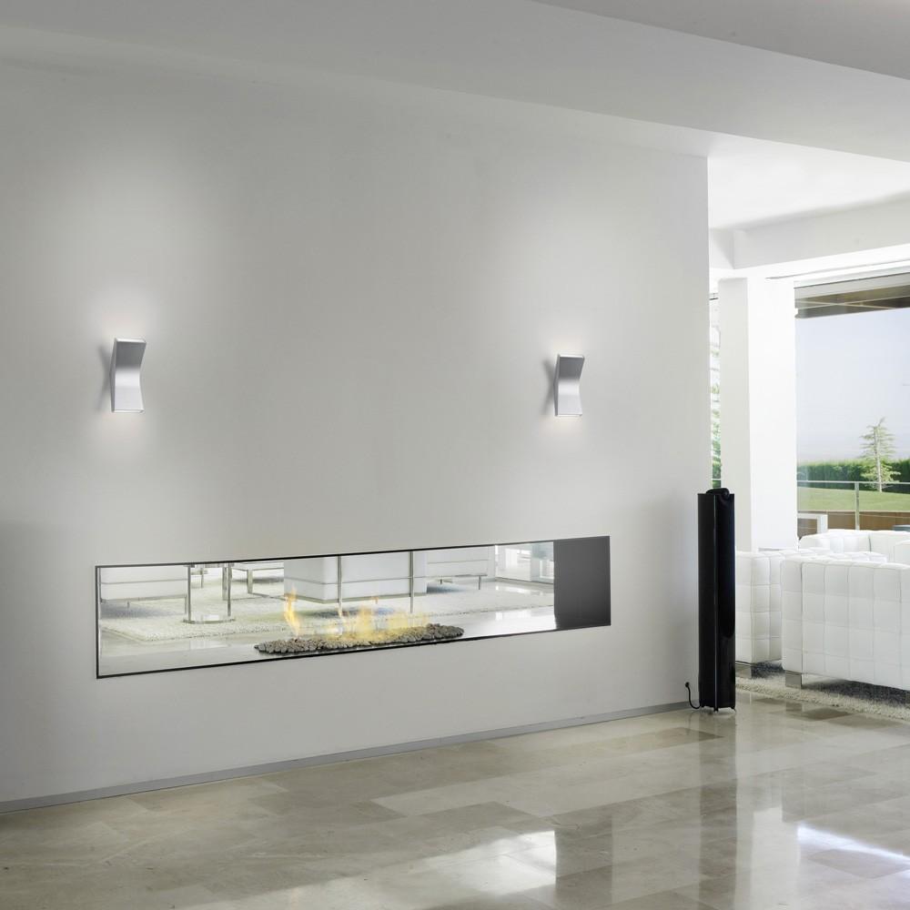 Bend Aplique 20,5cm LED 4,5w 1 haz de luz blanco Brillante