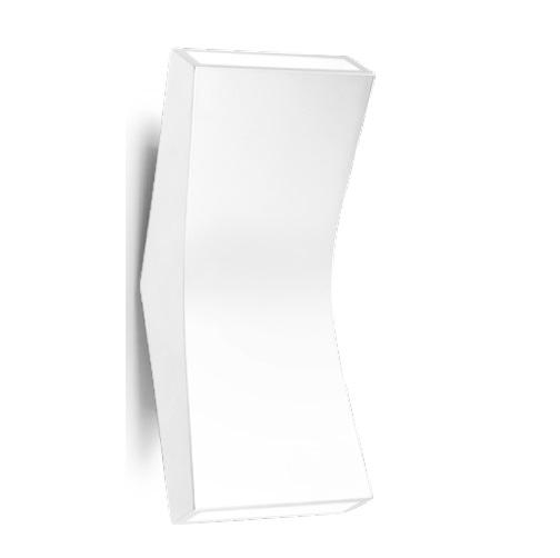 Bend Aplique 22cm LED 4,5w 2 haz de luz blanco Brillante