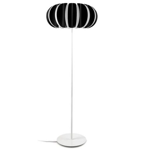 Blomma Floor Lamp E27 3x23w - Black