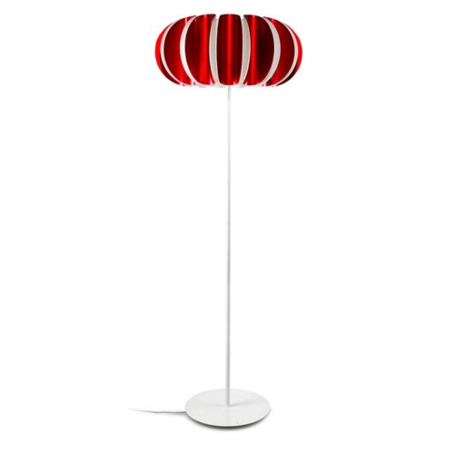 Blomma Floor Lamp E27 3x23w - Red