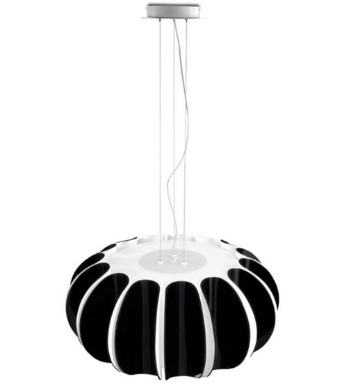 Blomma Pendant Lamp E27 3x23w - Black