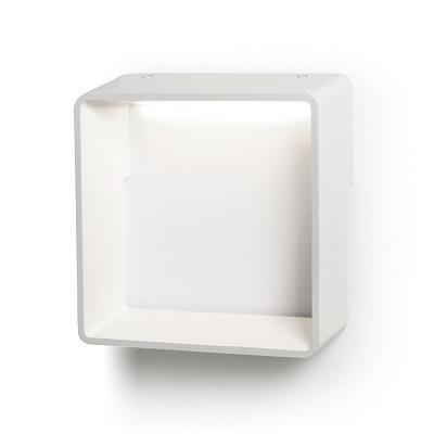 Cell Me Wall Lamp LED 3,4W - Aluminium white matt